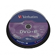 Verbatim DVD+R 4,7GB 16x, 10ks - spindle
